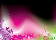 Enrollamiento rosado ilustración del vector