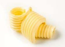 Enrollamientos de la mantequilla Fotografía de archivo libre de regalías