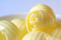Enrollamientos de la mantequilla Foto de archivo libre de regalías