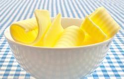 Enrollamientos de la mantequilla Foto de archivo