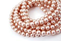 Enrollamientos de perlas Imagenes de archivo