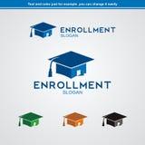 Enrollment Logo Royalty Free Stock Photos