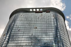 Enron-Gebäude Lizenzfreie Stockbilder
