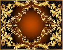 Enroulement végétal d'illustration Image stock