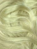 Enroulements de cheveu blond comme fond de texture Photo libre de droits