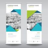 Enroulez le calibre de verticale de conception de bannière d'insecte de brochure d'affaires Photo libre de droits