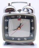 Enroulez vers le haut l'horloge d'alarme mécanique Photographie stock