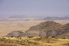 Enroute von Windhoek zum Solitaire stockbild