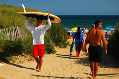 Enrrollamiento abajo de un día de verano Fotos de archivo libres de regalías