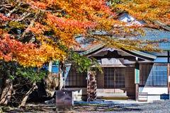 Enryaku-ji jest Tendai monasterem lokalizować na górze Hiei w Otsu, zdjęcia royalty free