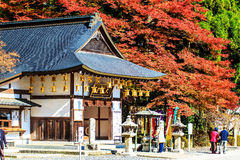 Enryaku-ji jest Tendai monasterem lokalizować na górze Hiei w Otsu, obrazy stock