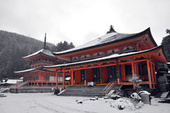 Enryaku-ji, Tempel von Hiei Stockbild