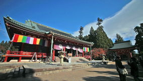 Enryaku-ji is a Tendai monastery Royalty Free Stock Photography