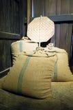 Ensaca o arroz Imagens de Stock