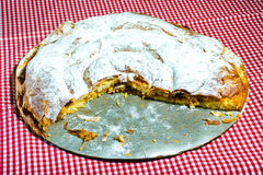 Ensaimada, cake typical of Mallorca. Spain Royalty Free Stock Image