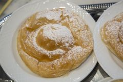 Free Ensaimada Pastry Cake Stock Photo - 111177460