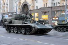Ensaio de parada de uma vitória em Moscovo Imagem de Stock Royalty Free