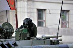 Ensaio de parada de uma vitória em Moscovo Foto de Stock Royalty Free