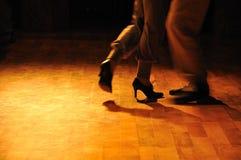 Ensaio do tango Foto de Stock