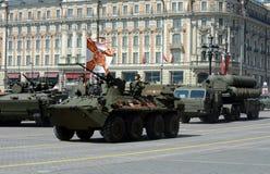 Ensaio para a celebração de Victory Parade Imagens de Stock Royalty Free