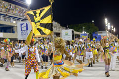 Ensaio Tecnico Escola de Samba RJ Royaltyfri Fotografi