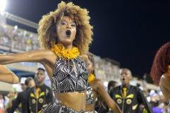 Ensaio Tecnico Escola de Samba RJ Royalty Free Stock Photography