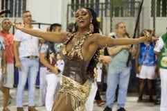 Ensaio Tecnico Escola de Samba RJ Stock Photography