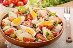 Ensalada campera traditional spanish countryside salad Stock Photos