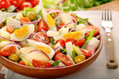 Ensalada campera traditional spanish countryside salad Royalty Free Stock Images