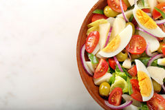 Ensalada campera traditional spanish countryside salad Stock Image