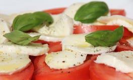 Ensalada con queso Foto de archivo libre de regalías