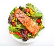 Ensalada de color salmón Imágenes de archivo libres de regalías