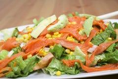 Ensalada de color salmón Imagen de archivo