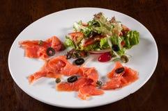 Ensalada de color salmón chamuscada Fotografía de archivo libre de regalías