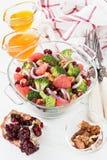 Ensalada de dieta sana deliciosa del bróculi Foto de archivo libre de regalías