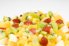 Ensalada de fruta. Foto de archivo libre de regalías