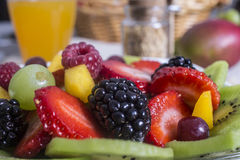 Ensalada de fruta Fotos de archivo