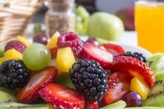 Ensalada de fruta Fotos de archivo libres de regalías