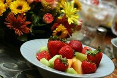 Ensalada de fruta 9138 Foto de archivo libre de regalías