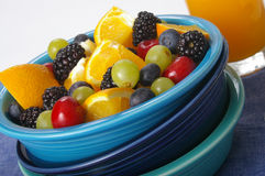 Ensalada de fruta asoleada Imagenes de archivo