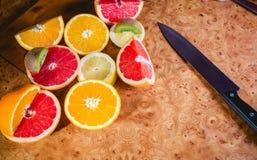 Ensalada de fruta, fruta cortada imagen de archivo