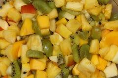 Ensalada de fruta orgánica Imagen de archivo libre de regalías