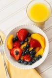 Ensalada de fruta para el desayuno Fotografía de archivo libre de regalías