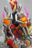 Ensalada de fruta para los maniquíes Fotos de archivo libres de regalías