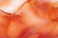 Ensalada de fruta roja Foto de archivo