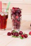 Ensalada de fruta roja Imagen de archivo libre de regalías
