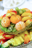 Ensalada de fruta sabrosa Fotografía de archivo