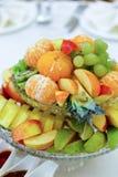 Ensalada de fruta sabrosa Imagenes de archivo