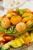 Ensalada de fruta sabrosa Fotografía de archivo libre de regalías