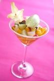 Ensalada de fruta tropical dulce Foto de archivo libre de regalías